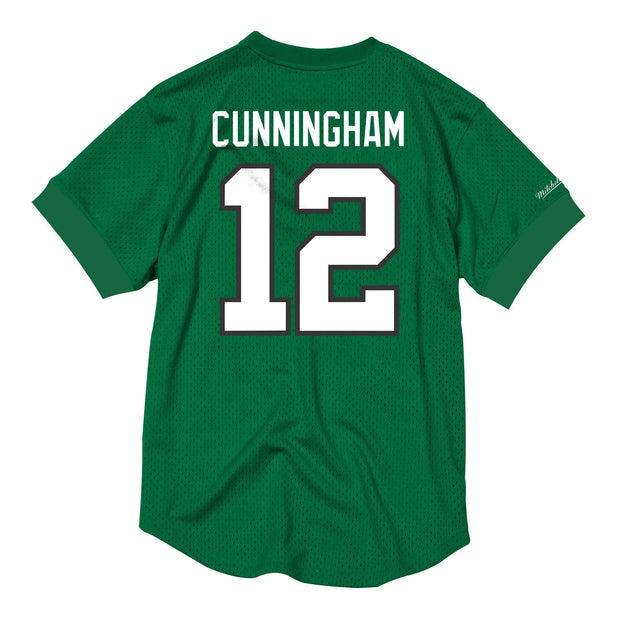 Mitchell & Ness Men's Tee Shirt Mitchell & Ness, Men's Randall Cunningham Crewneck (Green)