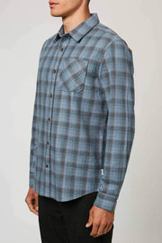 O'Neill Men's Flannel O'Neill, Sheltered Long-Sleeve Flannel (Multiple Colors)