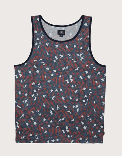 O'Neill Men's Tank Top Large / USA O'Neill, Men's O'Neival Tank (Navy)