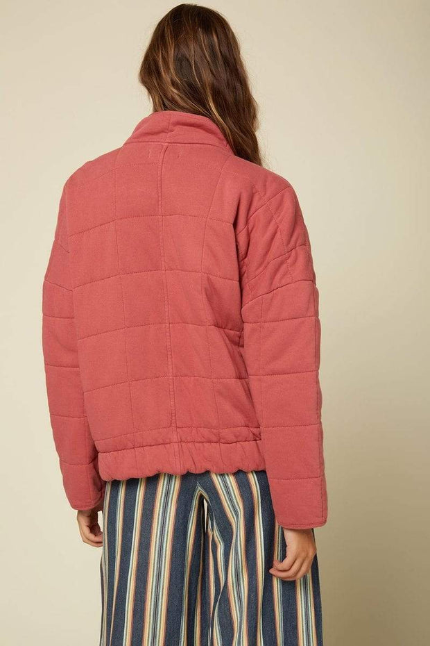 O'Neill Women's Jacket O'Neill, Women's Mable Rose Knit Jacket (Rose Pink)