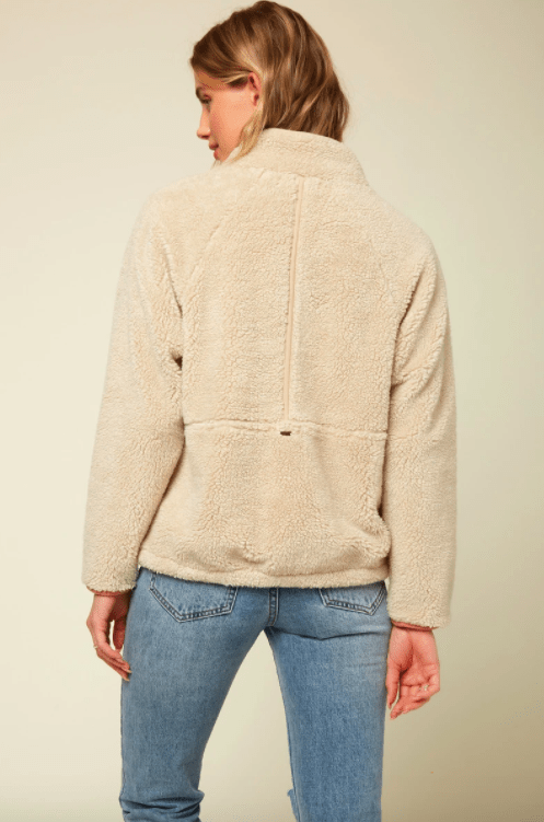 O'Neill Women's Jacket O'Neill, Women's Wallace Fleece (Natural)