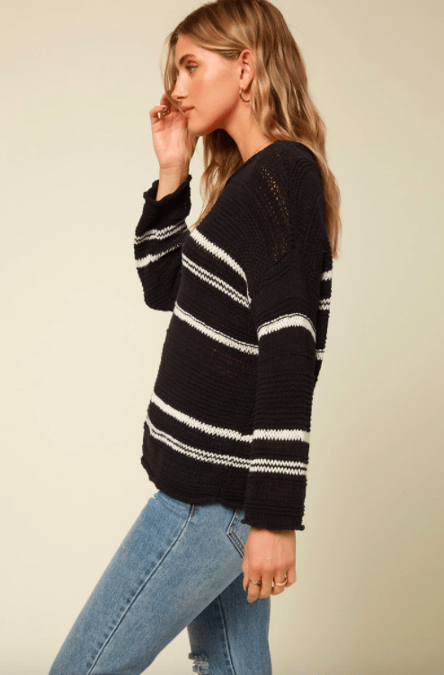 O'Neill Women's Sweaters O'Neill, Women's Salty Sweater (Black)