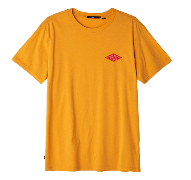 Obey Men's Tee Shirt Obey, Men's Propaganda Engineering Tee (Mustard Yellow)