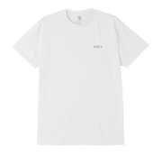 Obey Men's Tee Shirt Obey, Men's Split Dove Tee (White)