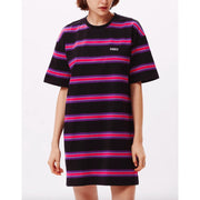 Obey Striped T-Shirt Dress