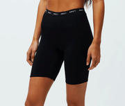 Obey Women's Shorts XS Obey, Women's Uptown Bike Shorts (Black)