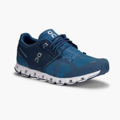 On Running Men's Shoes 10 / Blue Denim On Running, Men's Cloud Running Sneakers (Blue)