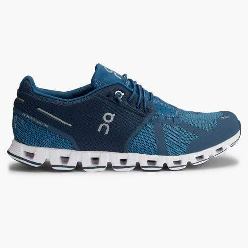 On Running Men's Shoes On Running, Men's Cloud Running Sneakers (Blue)