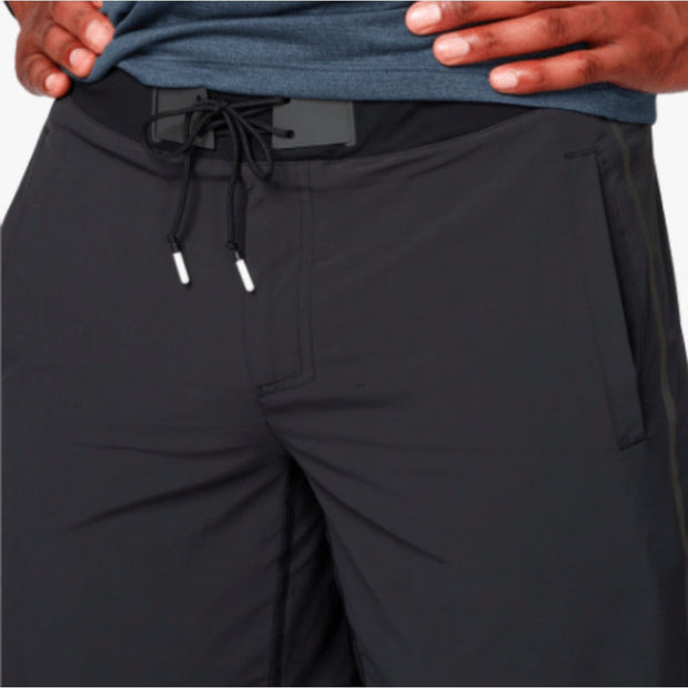 On Running Men's Shorts Black On Running, Men's Hybrid Shorts (Black)