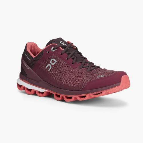 On Running Women's Shoes 7 / Mulberry / Coral On Running, Women's Cloud Surfer (Mulberry)