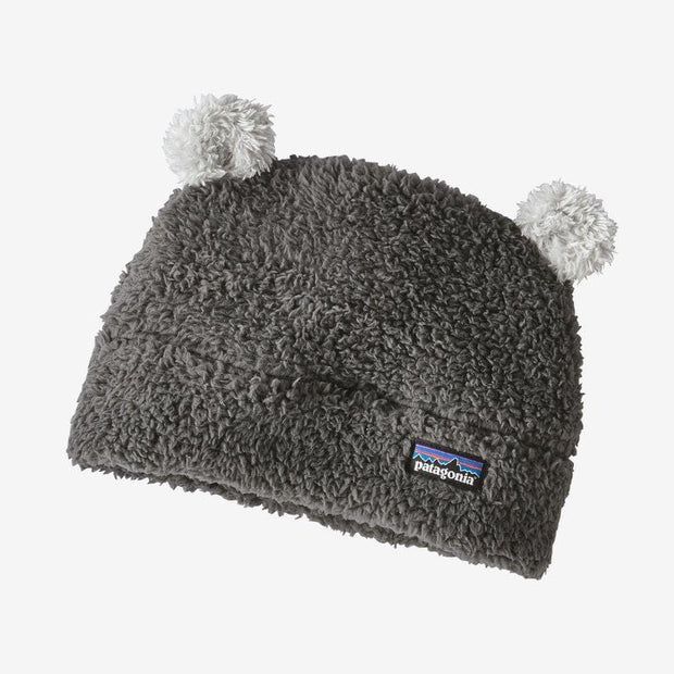 Patagonia Infant 12 Months / Grey Baby Furry Friends Hat (Multiple Colors)