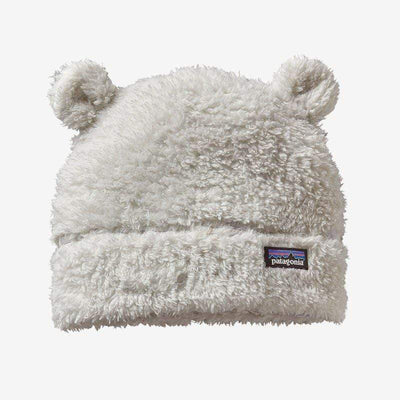 Patagonia Infant 12 Months / White Baby Furry Friends Hat (Multiple Colors)