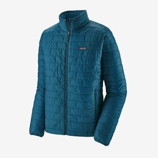 Patagonia Men's Jacket Large / Crater Blue Patagonia, Men's Nano Puff Jacket (Crater Blue)