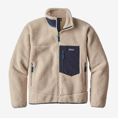 Patagonia Men's Jacket Large / Natural Patagonia, Men's Classic Retro-X Jacket (Beige)