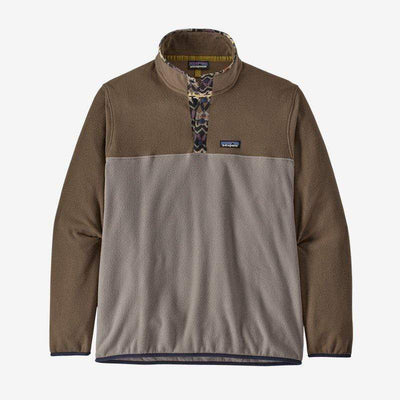 Patagonia Men's Sweaters Large / Furry Taupe Patagonia, Men's Micro Snap Fleece (Brown)