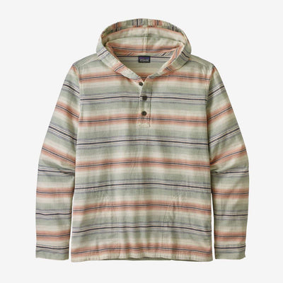 Patagonia Men's Sweatshirt Small Patagonia, Men's Fjord Flannel Hoody (Burnt Orange)