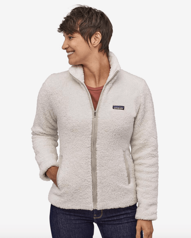 Patagonia Women's Jacket Large / Birch White Patagonia, Women's Los Gatos Fleece (White)
