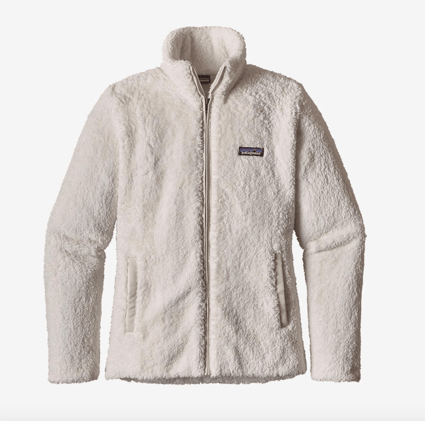 Patagonia Women's Jacket Patagonia, Women's Los Gatos Fleece (White)