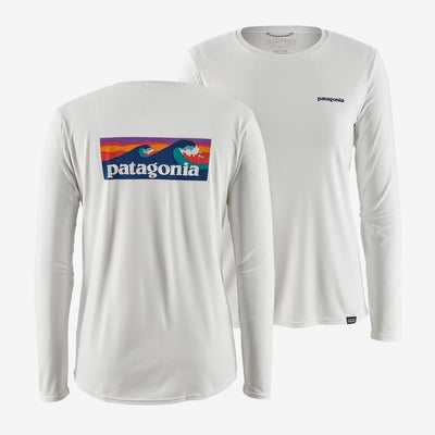 Patagonia Women's Tee Shirt White / Small Patagonia, Women's Capilene Long Sleeve Tee (Multiple Colors)