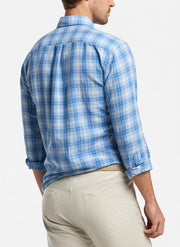 Peter Millar Men's Button-Down Shirts Peter Millar, Men's Whitehaven Shirt (Lake Blue)