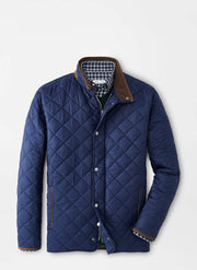 Peter Millar Men's Jacket Peter Millar, Men's Suffolk Quilted Travel Coat (Multiple Colors)