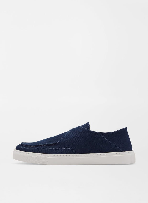 Peter Millar Men's Shoes 10.5 / Navy Peter Millar, Men's Seaside Breeze Slip On (Navy)