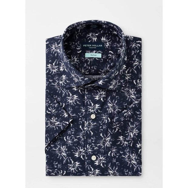 Peter Millar Men's Short Sleeve Button-Down Shirt