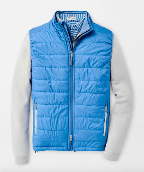 Peter Millar Men's Vest Large / Lake Blue Peter Millar, Men's Hyperlight Vest (Multiple Colors)