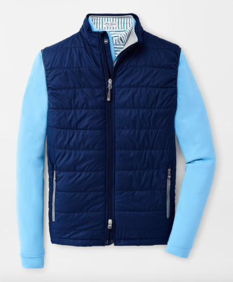 Peter Millar Men's Vest Large / Navy Peter Millar, Men's Hyperlight Vest (Multiple Colors)