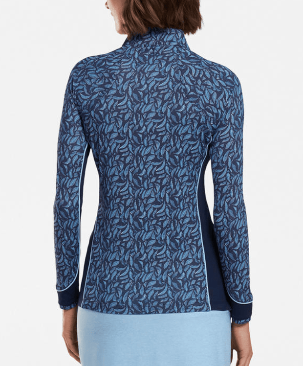 Peter Millar Women's Sweaters Peter Millar, Women's Palm Quarter-Zip (Blue)