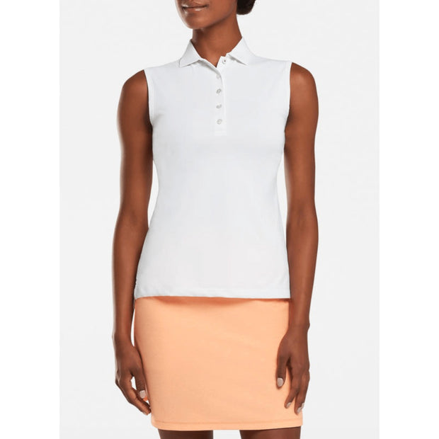 Peter Millar Women's Tops Large / Wht Peter Millar, Women's Perfect Fit Polo (White)