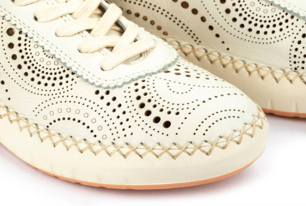 Pikolinos Women's Shoes Pikolinos, Women's Mesina Sneakers (Cream White)