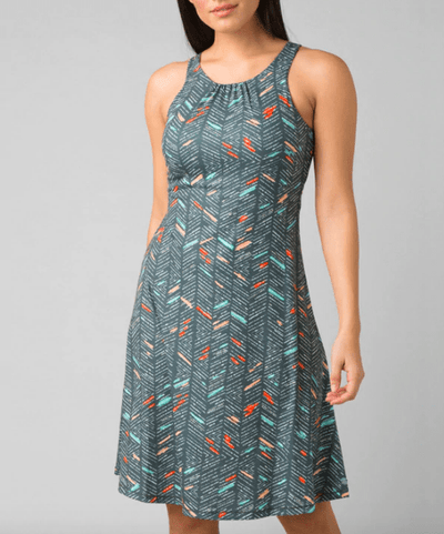 Prana Women's Dresses XS / Chalk Sketch Blue Prana, Women's Skypath Dress (Multiple Colors)