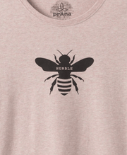 Prana Women's Tee Shirt Prana, Women's Bumble Bee Graphic Tee (Multiple Colors)