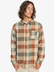 Quiksilver Men's Flannel Large / Thyme Green Quiksilver, Men's Motherfly Flannel (Multiple Colors)