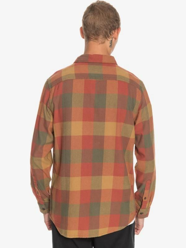 Quiksilver Men's Flannel Quiksilver, Men's Motherfly Flannel (Multiple Colors)