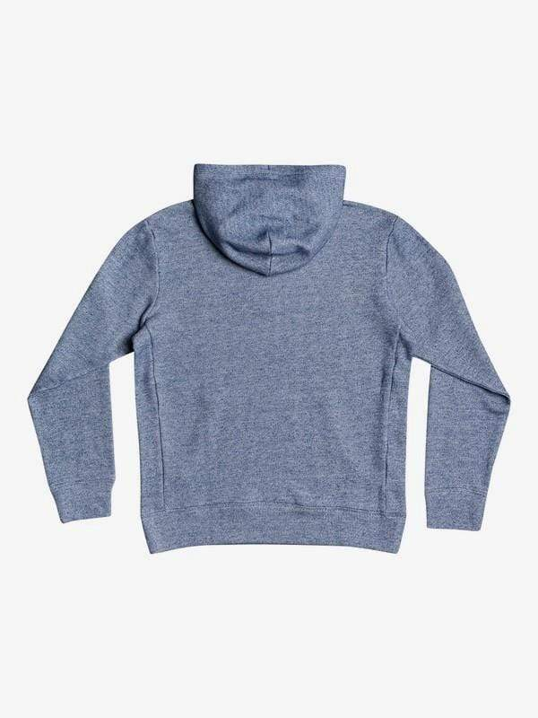 Quiksilver Men's Sweatshirt Quiksilver, Men's Ocean Nights Half Zip (Heathered Blue)