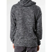 Rusty Men's Sweatshirt Medium / Black Rusty, Men's Fluffy Dice Hooded Fleece (Black)