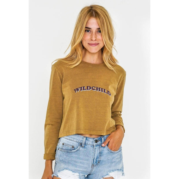 Beachy, Cozy Long-Sleeve from Rusty