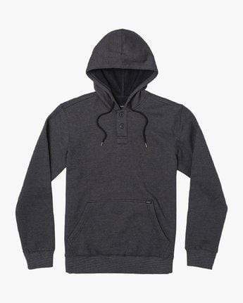 RVCA Men's Sweatshirt Large / Black RVCA, Men's Vista Hoodie (Black)