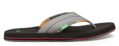 Sanuk Men's Sandals Grey / 8 Sanuk, Men's Beer Cozy 2 Sandal (Multiple Colors)