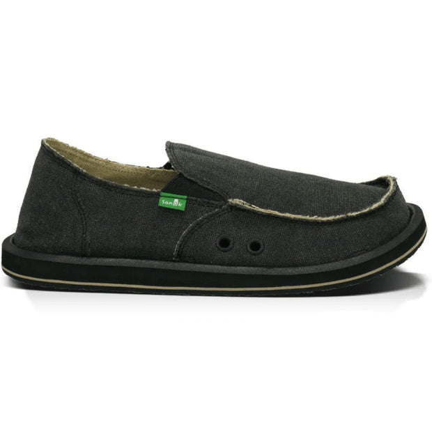Sanuk Men's Shoes Sanuk, Men's Vagabond Sidewalk Surfer (Charcoal)