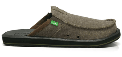 Sanuk Men's Shoes 8 Sanuk, Men's You Got My Back Sandals (Army Green)