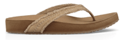 Sanuk Women's Sandals 6 Sanuk, Women's She Loungey Sandal (Natural)