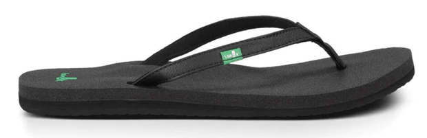 Sanuk Women's Sandals Black / 6 Sanuk, Women's Yoga Joy Sandal (Multiple Colors)