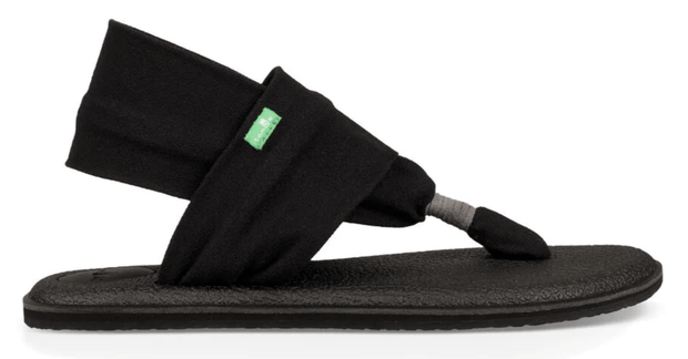 Sanuk Women's Sandals Black / 6 Sanuk, Women's Yoga Sling 2 Sandal (Multiple Colors)