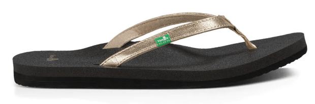 Sanuk Women's Sandals Champagne / 6 Sanuk, Women's Yoga Joy Metallic Sandal (Multiple Colors)