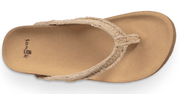 Sanuk Women's Sandals Sanuk, Women's She Loungey Sandal (Natural)