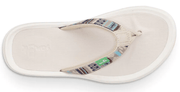 Sanuk Women's Sandals Sanuk, Women's Tripper H2O Yeah Sandal (White and Blue)