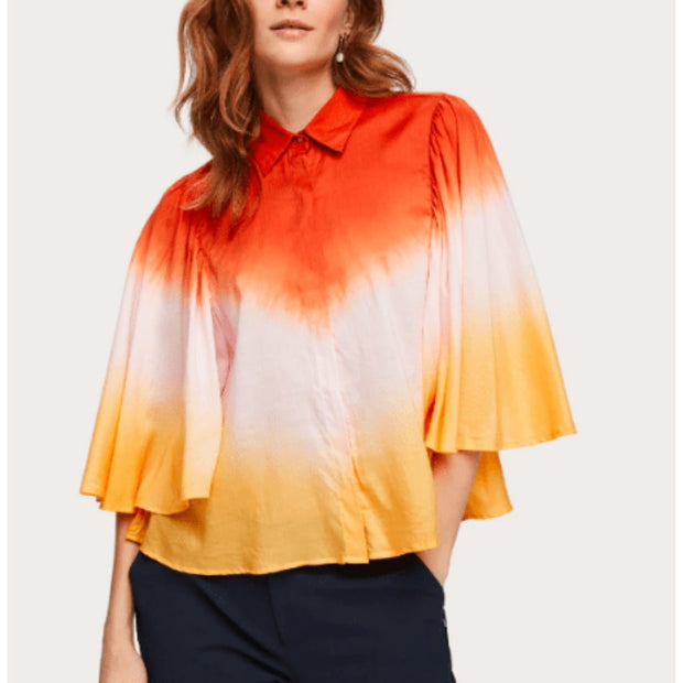 Scotch and Soda Women's Tops Scotch and Soda, Women's Ombre top (Orange and Yellow)